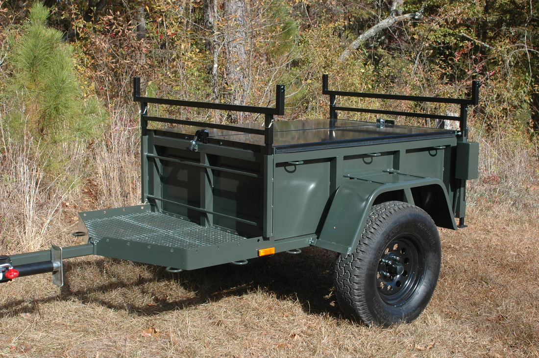 Features Morris Mule Trailer Company
